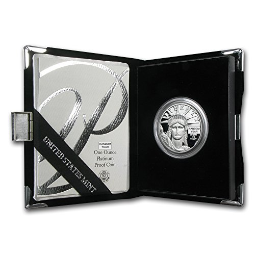 1997 W   Present 1 Oz Proof Platinum American Eagle  Random Year  W Box   Coa  1 Oz Brilliant Uncirculated