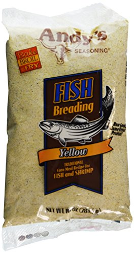Andy's Seasoning Yellow Fish Breading 10oz(Pack of 3) by Andy's