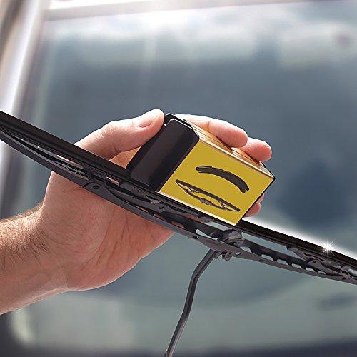 Limpiador de limpiaparabrisas con paño de microfibra: Amazon.es: Coche y moto