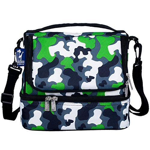 Green Camo Double Decker Lunch Bag Double Decker Food
