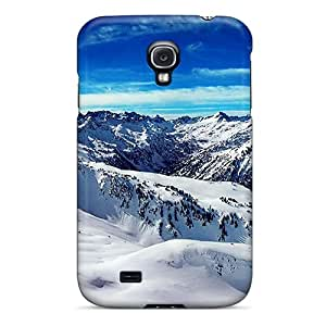 Ice Mountains Blue Sky Case Compatible With Galaxy S4/ Hot Protection Case