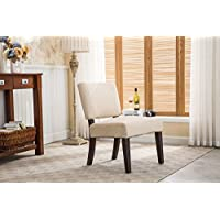Christies Home Living Sammy Accent Chair with Espresso Legs