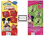 Mickey and Minnie Mouse Memory Match Game - 2 Games by Unknown