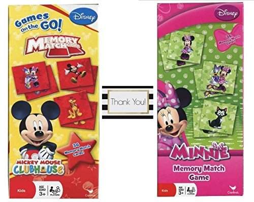Mickey and Minnie Mouse Memory Match Game - 2 Games by Unknown (Mickey Mouse Walking)