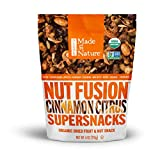 Made in Nature Organic Super Snacks, Cinnamon Citrus Nut & Fruit Fusion, Warm Combination of Organic Apples, Cranberries, Almonds, Cashews, and Cinnamon with Added Citrusy Kick, 4 Ounce (Pack of 6) For Sale