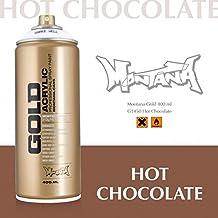 Montana Gold Series Spray Paint - Hot Chocolate 11 Oz Aerosol Can