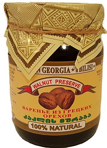 (whole walnut preserve (варенье из грецких орехов) from Georgia)