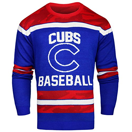 MLB Chicago Cubs Ugly Glow In The Dark Sweater