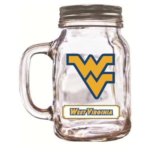 NCAA Virginia Mountaineers Mason 20 Ounce