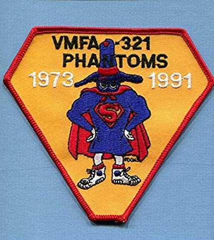 Amazon com: Embroidered Patch-Patches for Women Man- VMFA
