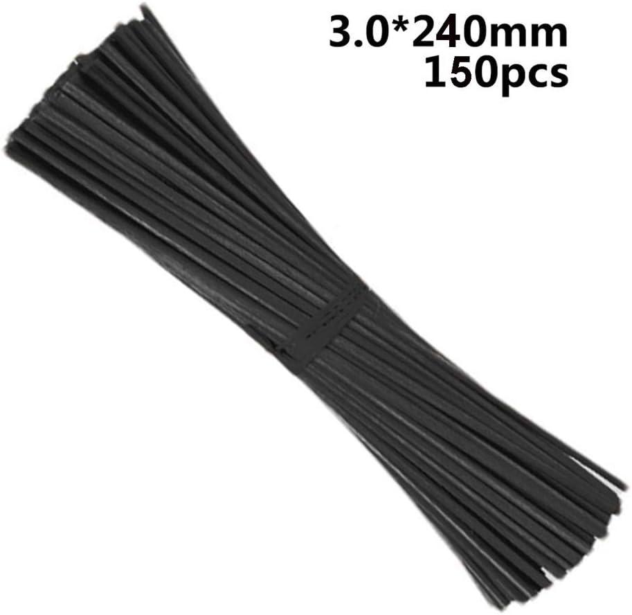 Xkfgcm 150 Piezas Reemplazo de Varillas Difusoras de Fragancia de Aceite Esencial de Habitación para Fragancia de Aroma de Caña Difusor Aroma Diffuser Sticks Reed Diffuser Sticks 240 * 3 mm
