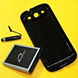 6280mAh Samsung GALAXY S III s3 i9300 R530M R530C Extended Life Battery+Back Hard Door Cover+Mini Touch PEN