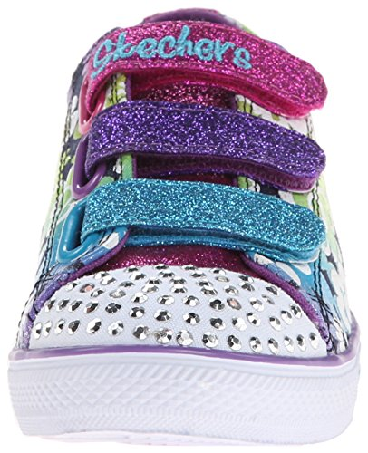 Baskets Mode Glint amp; Bleu Chit Chat Skechers Gleam Fille XOq7aUgw
