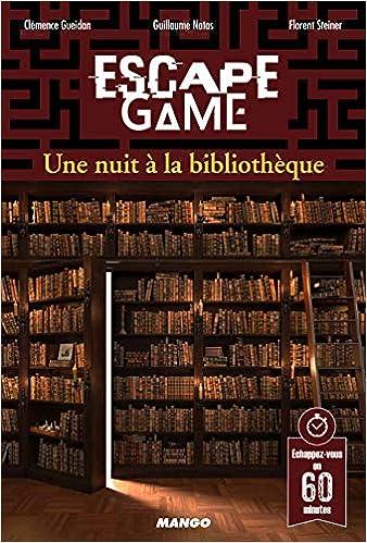 Amazon Fr Escape Game Une Nuit A La Bibliotheque