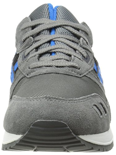 Asics Girl's Gel-Lyte Iii Ankle-High Tennis Shoe Grey/Mid Blue original for sale clearance marketable p5I7oISv