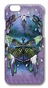 Dragonfly Dreamcatcher PC Case Cover for iphone 6 plus 5.5inch by runtopwell