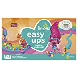 Pampers Easy Ups Training Underwear Girls Size 4 2T-3T 112 Count packaging may vary