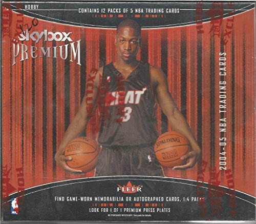 2004-05 Skybox Premium Basketball Sealed Box Of 12 Packs 5 Cards Per Pack