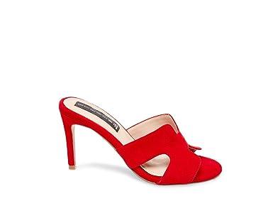 d08195beb16a3 Steve Madden Women''s Nylah Red Suede Dress Open 10 US