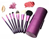 ZOREYA Makeup Brush Set 7 Professional Makeup Brushes With Synthetic Fiber And Luxury Case