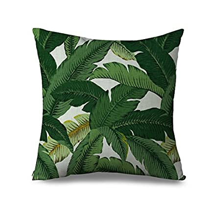 Tommy Bahama Palm Print Pillow Cover