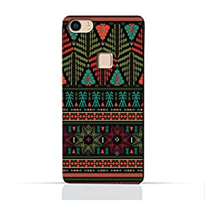 AMC Design Ethnic Grunge Neon Pattern Printed Protective Case for Vivo X Play 5 - Multi Color