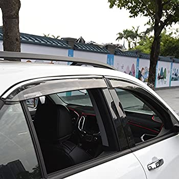 Amazon.com: Kust yd5992w Chevrolet Car Windows Rain Guards ...