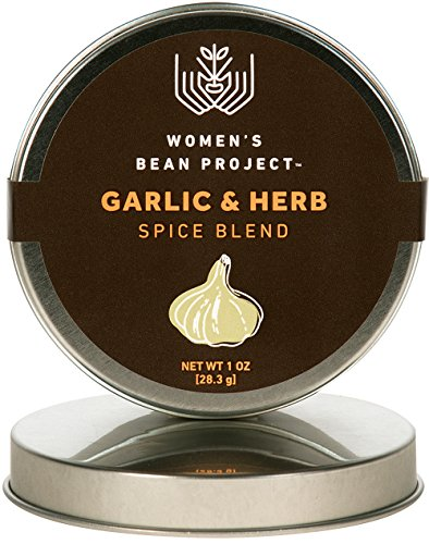 Women's Bean Project All-Natural Specialty Garlic & Herb Seasoning Blend, 2 Ounce Tin (Dill Dip With Cream Cheese And Mayo)
