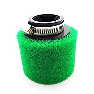 Race-Guy Air Filter Clearner Green 42mm For 125cc 140cc Engine Chinese ATV Quad Pit Dirt Trail Bike Go Kart Scooter Moped Motorcycle