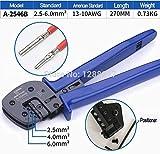 Ochoos Solar Photovoltaic Clamp for MC3 MC4 Photovoltaic Special Clamp for MC4 Solar Cable Connector AWG 14 12 10 clamp tool - (Size: A-1546TK)