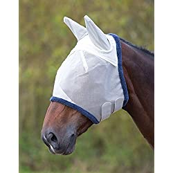 Shires Field Durable Fly Mask With Ears (Full)