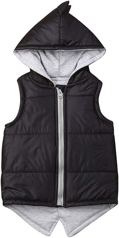 Winter Children Vest Baby Waistcoat Warm Jackets Sleeveless Vest Outwear Coats
