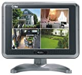 Q-See QSM0S 8-Inch Color LCD Monitor with Speakers