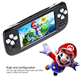 AOLVO Handheld Game Console, Retro Game Console 4.3' 16 GB 3000 Classic Games Player, Portable Video Game Console Support GBA/NES/SFC/SEGA/NEOGEO/CP1/CP2 And More Good Presents for Children