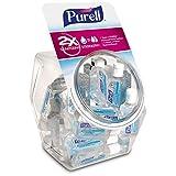 PURELL Advanced Hand Sanitizer, Refreshing Gel, 36 - 1 fl oz Portable, Travel Sized Flip Cap Bottles with Display Bowl - 3901-BWL