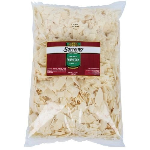 Sorrento Grated Imported Parmesan Cheese, 5 Pound -- 4 per case.