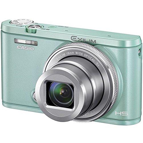 (カシオ) Casio デジタルカメラ Exilim Ex-zr5000 超広角19mmレンズ 光学5倍ズーム ワイドビューフォト メイクアップ機能 セルフィーアート 旅行カメラ (グリーン)