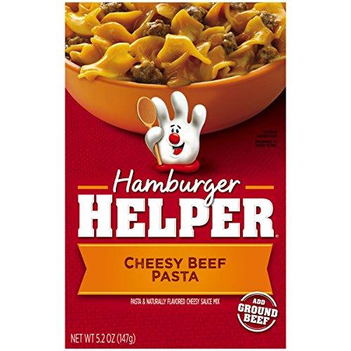 (Betty Crocker Hamburger Helper, Cheesy Beef Pasta Hamburger Helper, 5.2 Oz Box)