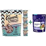 Cocomels, Organic, Coconut Milk Caramels, Sea Salt, 3.5 oz (100 g)( 5 PACK ) + Navitas Organics, Organic, Mulberry Berries, 8 oz (227 g)