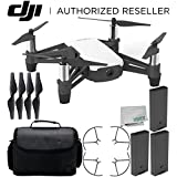 Ryze Tello Quadcopter Drone with HD camera and VR - powered by DJI technology and Intel Processor Ultimate Travel Bundle