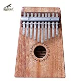Gecko K10M 10 Key Mahogany Kalimba African Thumb Piano Finger Percussion Keyboard Music Instruments