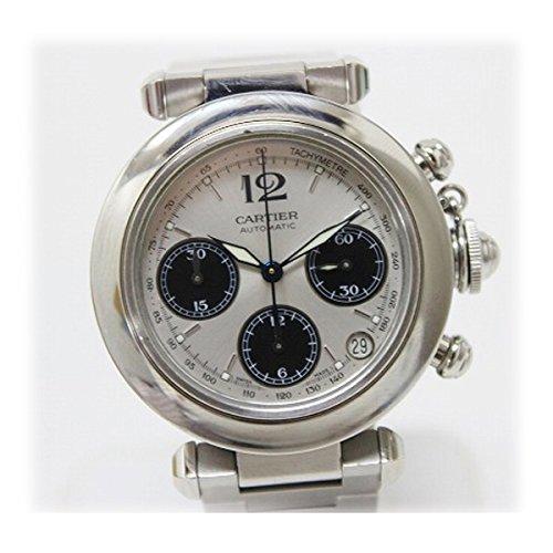 [カルティエ]Cartier パシャC クロノグラフ ボーイズ腕時計 SS 自動巻き W31048M7 [中古] B01D2NJXMW