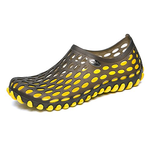 - Imuzy Mens Water Shoes Wading Sandals Garden Shoes Hole Water Shoes Womens Beach Sandals, Y43