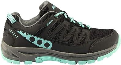 8000 Zap TORMENTA W Negro/Turquesa, Zapatillas de montaña para Mujer, 37 EU: Amazon.es: Zapatos y complementos