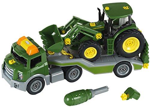 Theo Klein 3908 Transporter mit John Deere Traktor