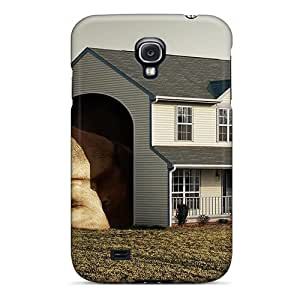 High Impact Dirt/shock Proof Case Cover For Galaxy S4 (big Dog Big Hut)