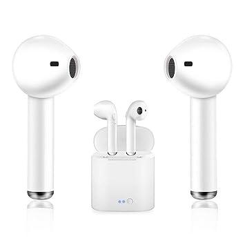 Auriculares Bluetooth inalámbricos, auriculares inalámbricos Bluetooth con función de cancelación de ruido y carga,