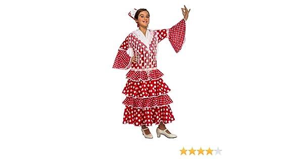 My Other Me Me-203844 Disfraz de flamenca Sevilla para niña, color ...