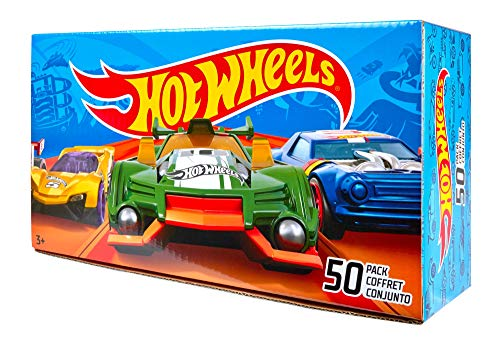 (Hot Wheels Basic Car 50-Pack (Packaging May Vary) )