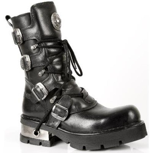 NEWROCK New Rock Stivali Donna Stile 373 S3 Nero